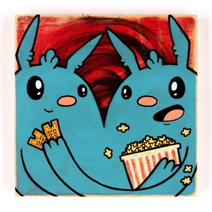 Kill Taupe Original Art - Movies & Popcorn