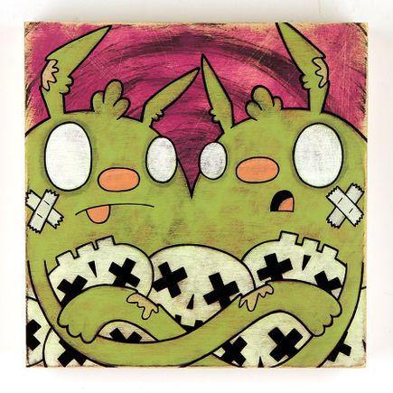 Kill Taupe Original Art - Skulls & A Full Tummy