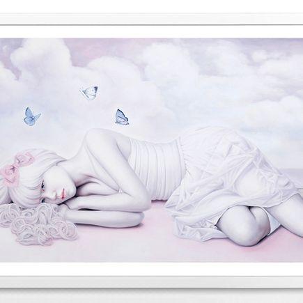 Kwon Kyung-Yup Art Print - Angel's Tale
