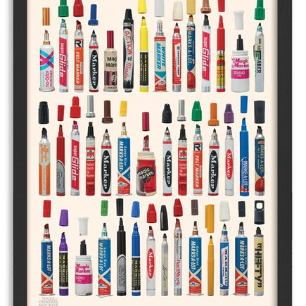 Roger Gastman Art Print - Tools of Criminal Mischief - The Markers