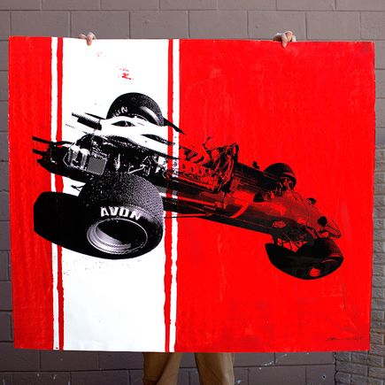 Camilo Pardo Original Art - Ferrari 12 of 15
