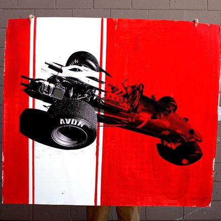 Camilo Pardo Original Art - Ferrari 13 of 15