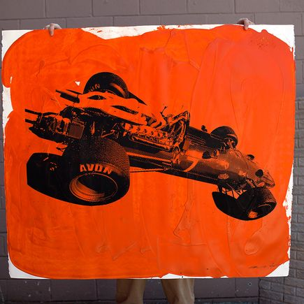 Camilo Pardo Original Art - Ferrari 9 of 15