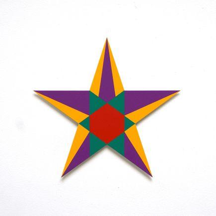 Franklin Jonas Hand-painted Multiple - Stars 2 of 30