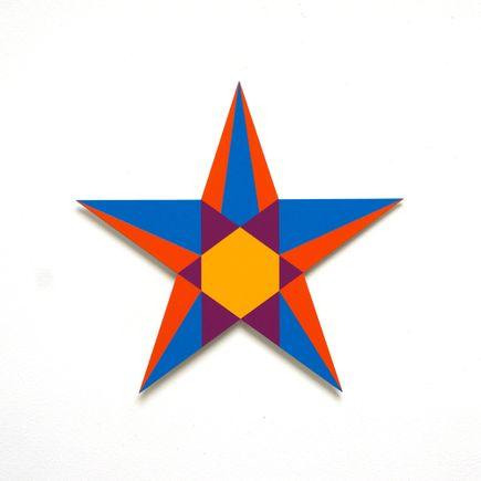 Franklin Jonas Hand-painted Multiple - Stars 3 of 30