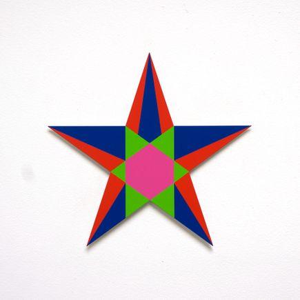 Franklin Jonas Hand-painted Multiple - Stars 4 of 30
