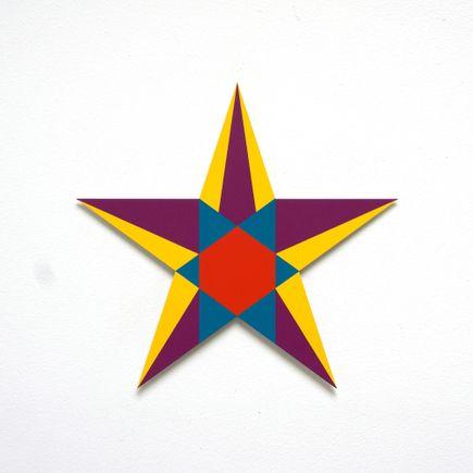 Franklin Jonas Hand-painted Multiple - Stars 5 of 30