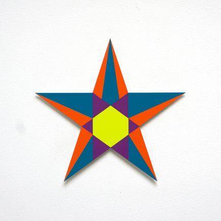 Franklin Jonas Hand-painted Multiple - Stars 6 of 30