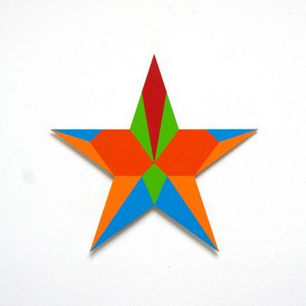 Franklin Jonas Hand-painted Multiple - Stars 7 of 30