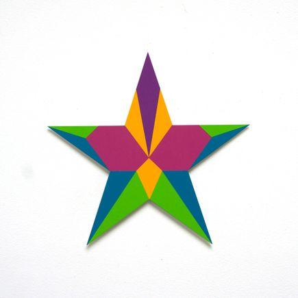 Franklin Jonas Hand-painted Multiple - Stars 8 of 30
