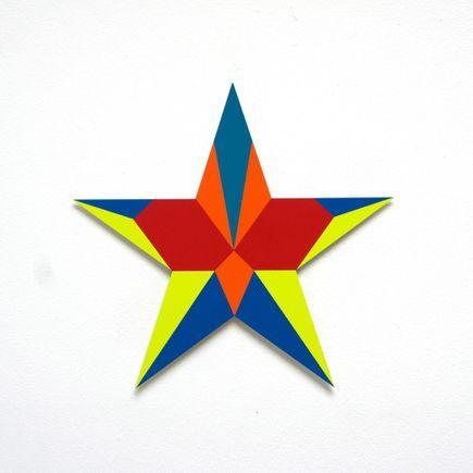 Franklin Jonas Hand-painted Multiple - Stars 9 of 30