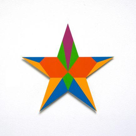 Franklin Jonas Hand-painted Multiple - Stars 10 of 30