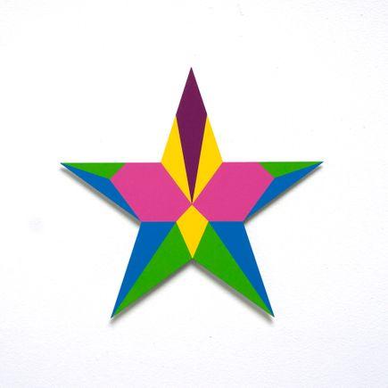 Franklin Jonas Hand-painted Multiple - Stars 11 of 30