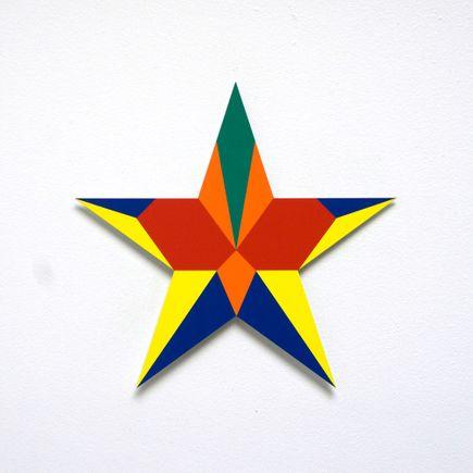 Franklin Jonas Hand-painted Multiple - Stars 12 of 30