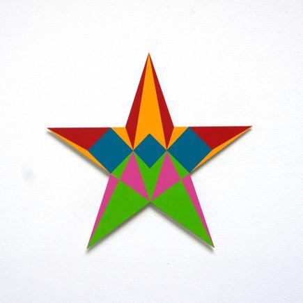 Franklin Jonas Hand-painted Multiple - Stars 13 of 30