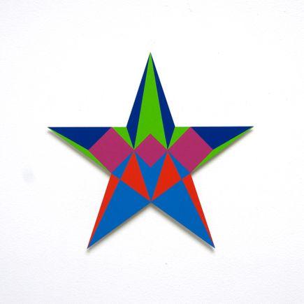 Franklin Jonas Hand-painted Multiple - Stars 14 of 30