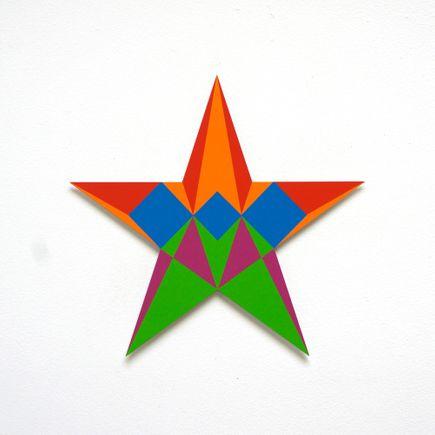 Franklin Jonas Hand-painted Multiple - Stars 16 of 30