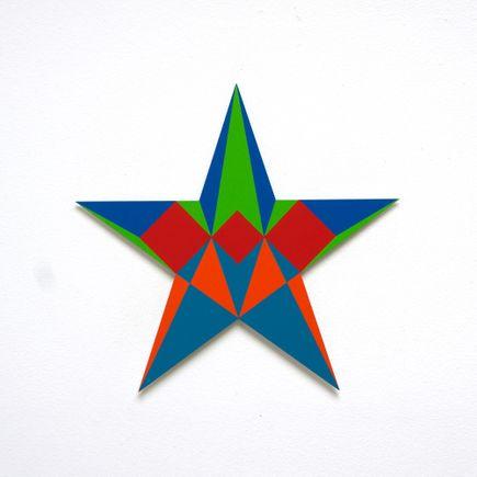 Franklin Jonas Hand-painted Multiple - Stars 17 of 30