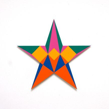 Franklin Jonas Hand-painted Multiple - Stars 18 of 30