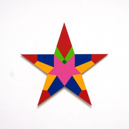 Franklin Jonas Hand-painted Multiple - Stars 19 of 30