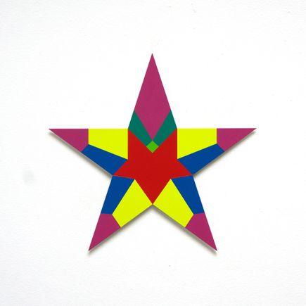 Franklin Jonas Hand-painted Multiple - Stars 20 of 30