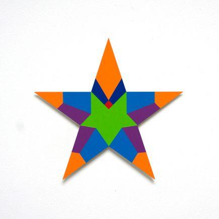 Franklin Jonas Hand-painted Multiple - Stars 21 of 30