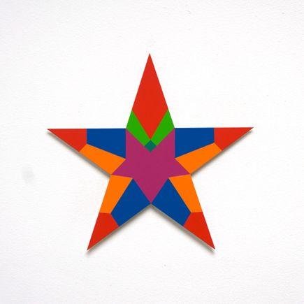 Franklin Jonas Hand-painted Multiple - Stars 22 of 30
