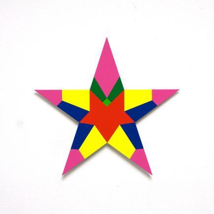 Franklin Jonas Hand-painted Multiple - Stars 23 of 30