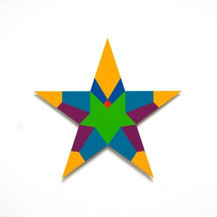 Franklin Jonas Hand-painted Multiple - Stars 24 of 30
