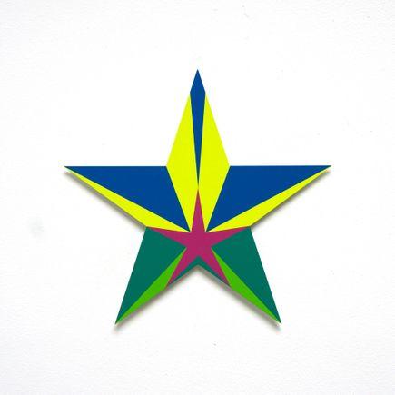 Franklin Jonas Hand-painted Multiple - Stars 25 of 30