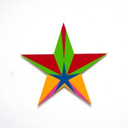 Franklin Jonas Hand-painted Multiple - Stars 26 of 30