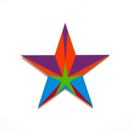 Franklin Jonas Hand-painted Multiple - Stars 27 of 30