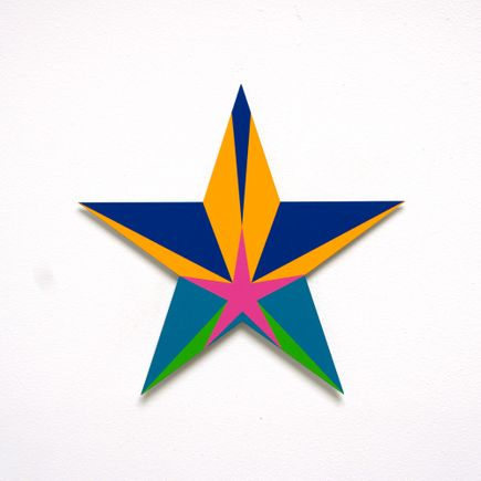 Franklin Jonas Hand-painted Multiple - Stars 28 of 30