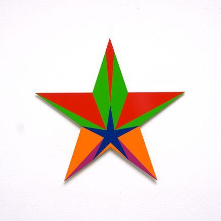 Franklin Jonas Hand-painted Multiple - Stars 29 of 30