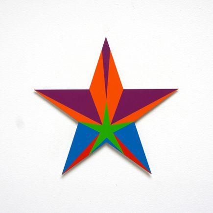 Franklin Jonas Hand-painted Multiple - Stars 30 of 30