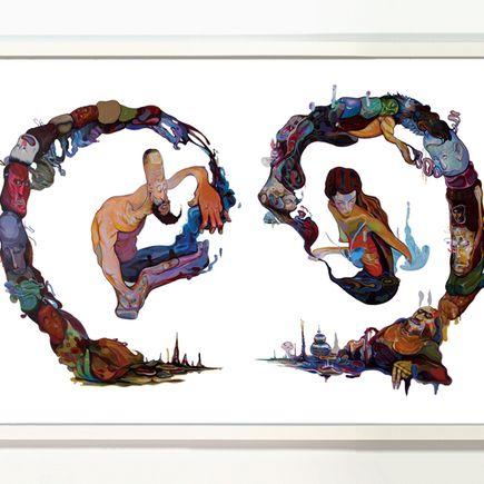 Jose Mertz Art Print - Half Hearted