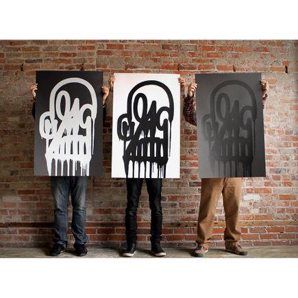Katsu Art Print - Timeless Skull 3 Print Set