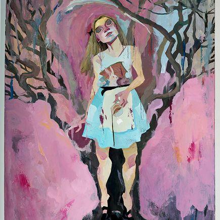 Rich Pellegrino Original Art - Alice Original Painting