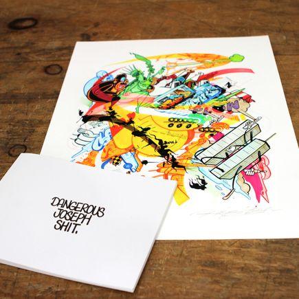 Rime Art - Print & Zine Combo