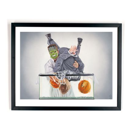 Ryan McCann Art Print - Death To Koons - Limited Edition Prints
