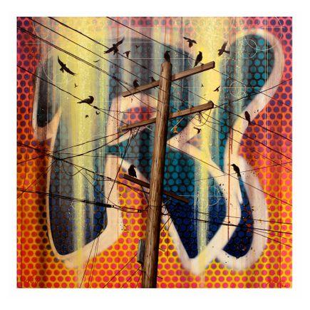 Risk & Nathan Ota Art Print - Crucifix