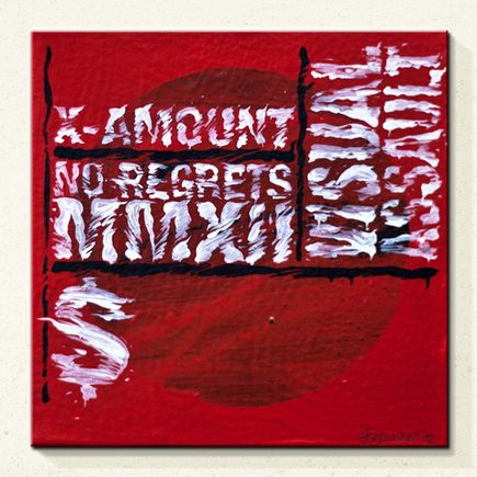 Askew One Original Art - No Regrets - Original Painting