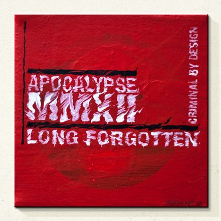 Askew One Original Art - Apocalypse Long Forgotten - Original Painting
