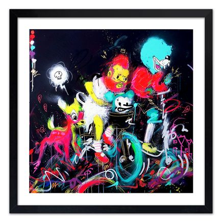 Jasper Wong Art Print - Homies 4 Life