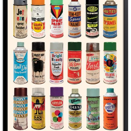 Roger Gastman Art Print - Tools of Criminal Mischief : The Cans II