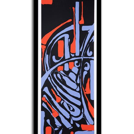 Zes Art - Epitaph - Red/Blue Edition - Framed