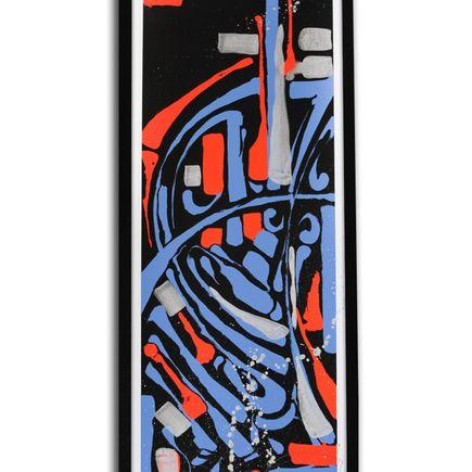 Zes Art Print - Epitaph - Red/Blue Hand-Embellished Edition