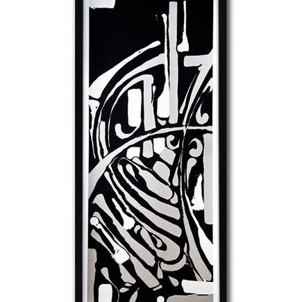 Zes Art Print - Epitaph - Silver/White Edition