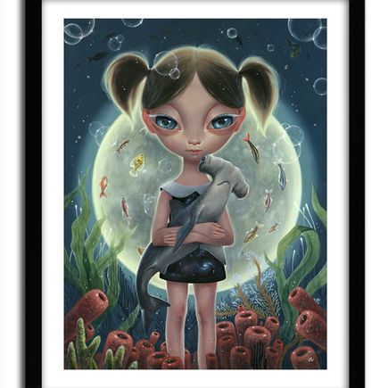 Ana Bagayan Art Print - Undersea Moon