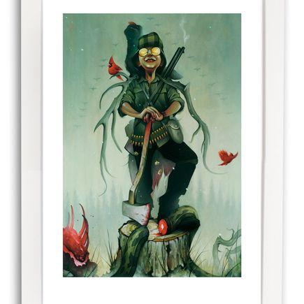Chris B. Murray Art Print - Mountain Man